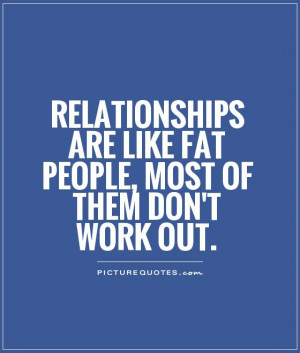 ... are like fat people, most of them don't work out Picture Quote #1