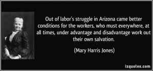 Out of labor's struggle in Arizona came better conditions for the ...