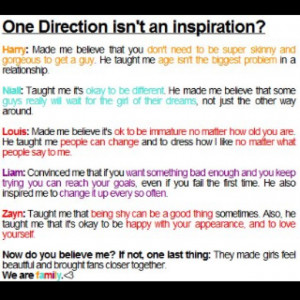 One Direction Inspiration