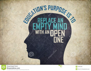 thinking brain mind background with letters coming from a famous ...