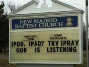 Funny Church Signs (17 Pics)