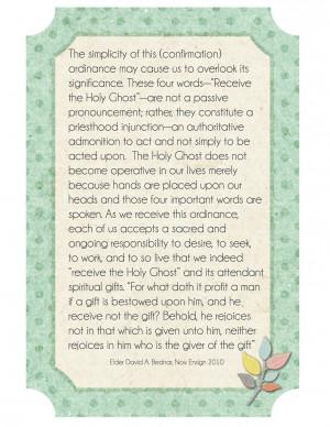 Confirmation Ordinance