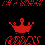 Woman Goddess - Queen - Crown - Lines Quotes Tank Top