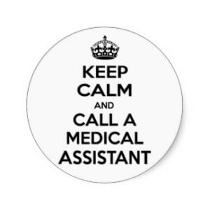 Medical Assistant Jokes Stickers