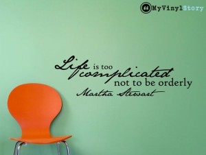 Martha Stewart inspirational business quote wall by MyVinylStory, $17 ...