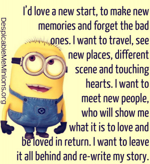 Showing Gallery For Minions Love Quotes
