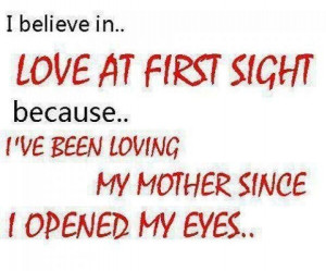 mothers day love quote - I love you mom