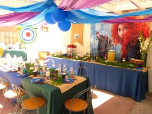 Brave Merida Birthday Party