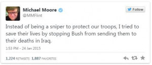 Related to Michael Moore Slams American Sniper Chris Kyle As A