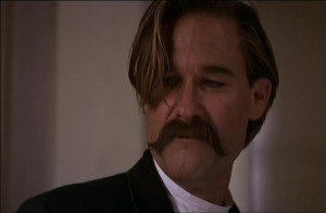 Wyatt Earp: Thanks for always being there for me, Doc.