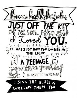 Fall Out Boy- Hum Hallehejah