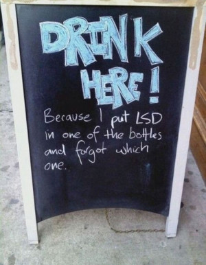 These 30 Random Signs Seen Outside Of Restaurants Are Hilarious ...