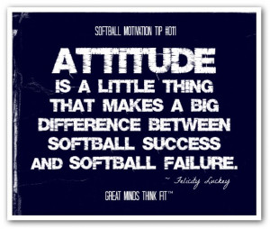 Inspirational Quote For Softball