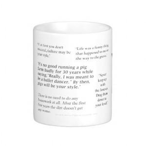 Quentin Crisp Quote Gift Mug