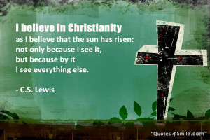 Christianity Beliefs Godly Quotes About Faith in God: I believe in ...