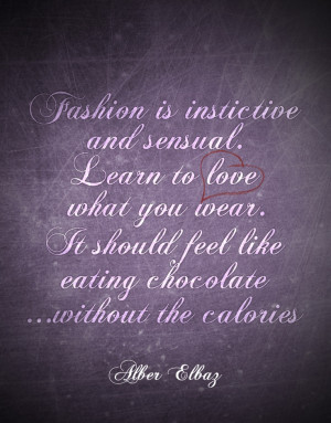 Alber Elbaz #fashion #quote