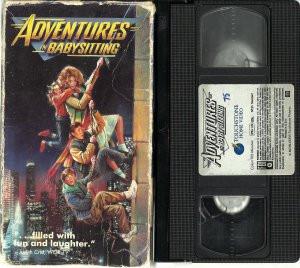 VHS - Adventures In Babysitting - Elizabeth Shue