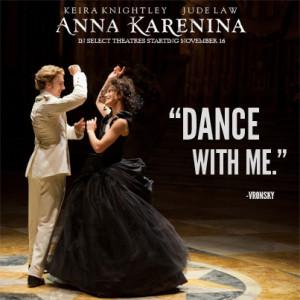 "Dance with me."" – Vronsky #AnnaKarenina"