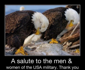 SALUTE To ALL Our Military Troops! Thank You For Your Sacrifice ...