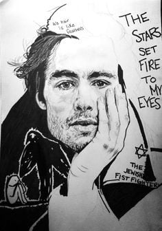 Ben Schnetzer as Max Vandenburg from The Book Thief. Art by chewbecca.