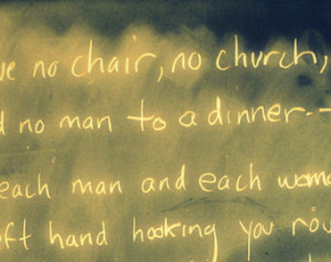 ... Whitman , Leaves of grass, song of myself,chairs in classroom