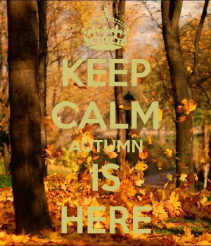 Fall, autumn, quotes, sayings, photos, calm