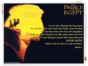 THE PRINCE OF EGYPT [1998]