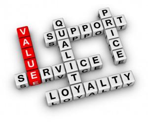 Providing Value and Great Customer Service