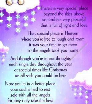 ... special angel in heaven angel in heaven poems my angel up in heaven