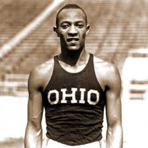 jesse owens in the peak of his career when owens