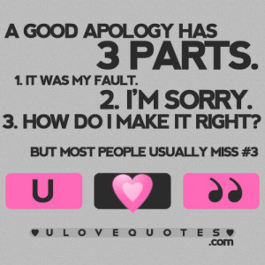 Good Apology Quotes Ajilbabcom Portal Picture