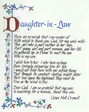 Bad Daughter In Law Quotes http://suebohlin.com/artwork_40.php