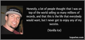 More Vanilla Ice Quotes