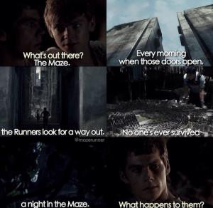 The Maze Runner Newt Quotes The maze runner