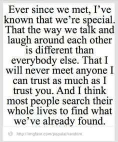 my best friend quote, love her through all the hard times we've been ...