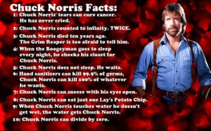 Chuck Norris vs. The Most Interesting Man in the World - who will win?