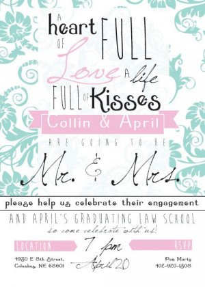 cute engagement announcements