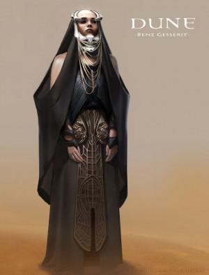 Dune Bene GesseritBruno Gauthier, Dunes Bene, Concept Art, Digital Art ...