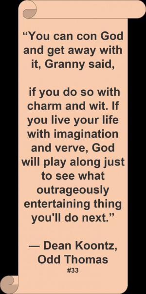 Dean Koontz ♥ ~ #Quote #Author #Humor