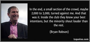 More Bryan Robson Quotes
