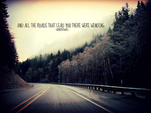 Quotes On Winding Roads