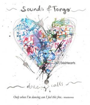 747th heart Tango music and dancing