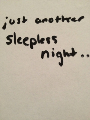 Dear Sleep Sorry Hated You...