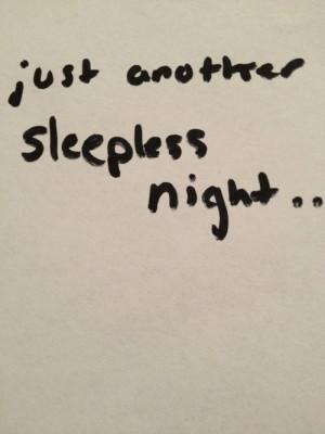 Dear Sleep Sorry Hated You...