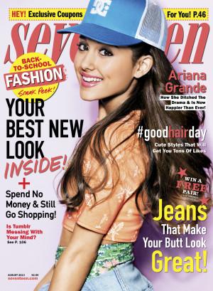 Ariana Grande Covers 'Seventeen Magazine,' Talks Drama With Former ...
