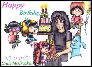 Craig Mccracken Birthday