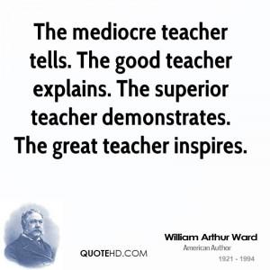 Teacher Quotes William arthur ward quotes
