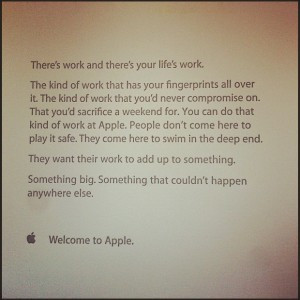 love the concept of giving every new hire a letter on their first ...