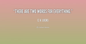 Two Word Quotes