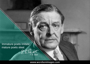 Famous poet quote...